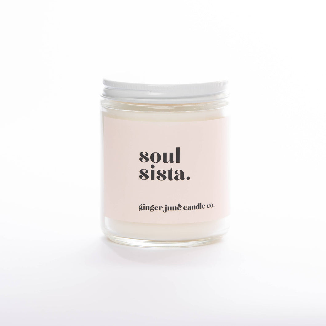 'Soul Sista' Candle