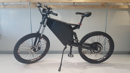 CUSTOM E-BIKE 2000W - NEVER GET FLAT