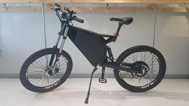 CUSTOM E-BIKE 2000W - NEVER GET FLAT WITH T-LINER