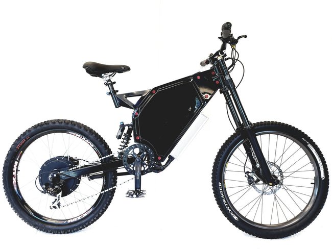 CUSTOM E-BIKE - 8000W MOTOR - NEVER GET FLAT WITH T-LINER