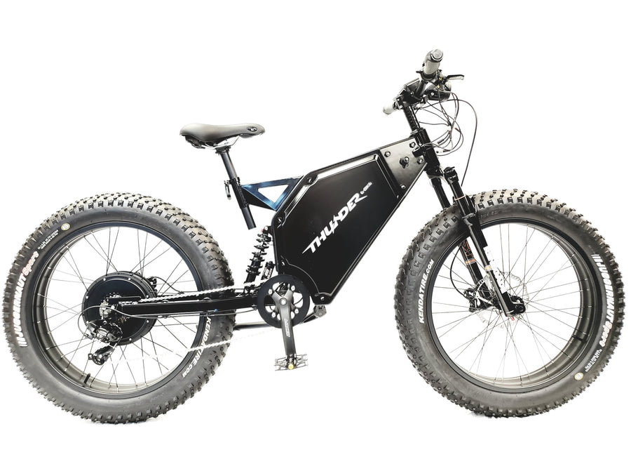 RICHMOND E-BIKE SPECIAL EDITION - THUNDER CUSTOM E-BIKE