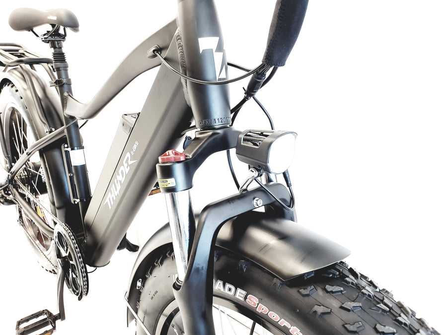 "Thunder Fat Tires 26"" Mountain E-bike"