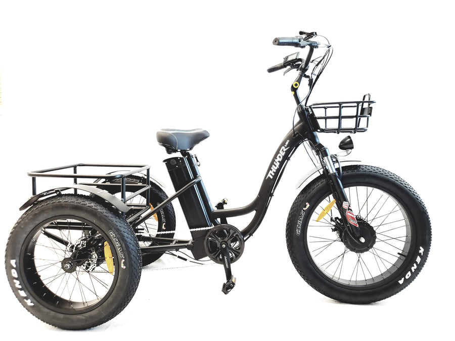 THUNDER 3-WHEEL STEP-THROUGH Fat Tire E-BIKE
