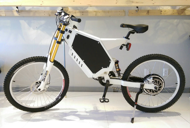 CUSTOM ELECTRIC BIKE - Rear drive 1500W - NEVER GET FLAT WITH T-LINER