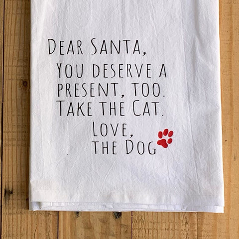 Take the Cat Tea Towel