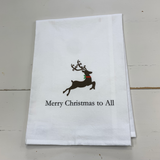 Merry Christmas to All Tea Towel