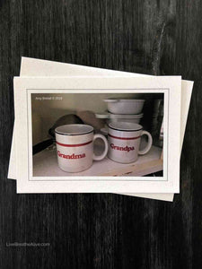 Cherished Mugs Card
