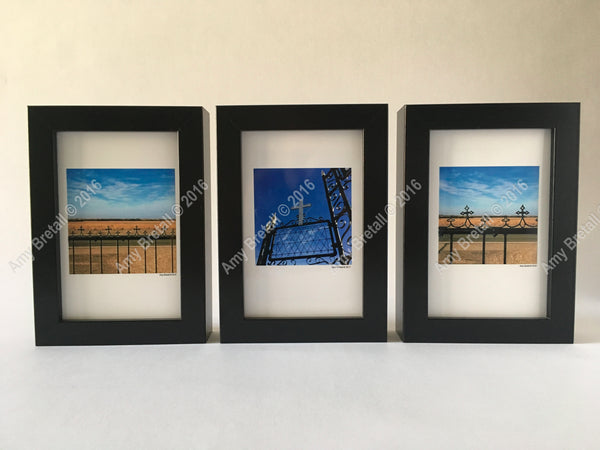 Christian crosses in a set of three unique photographs to uplift any space