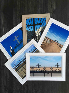 Set of Cross Photography cards (set of 5)