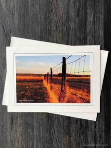 Harvest Fence Card