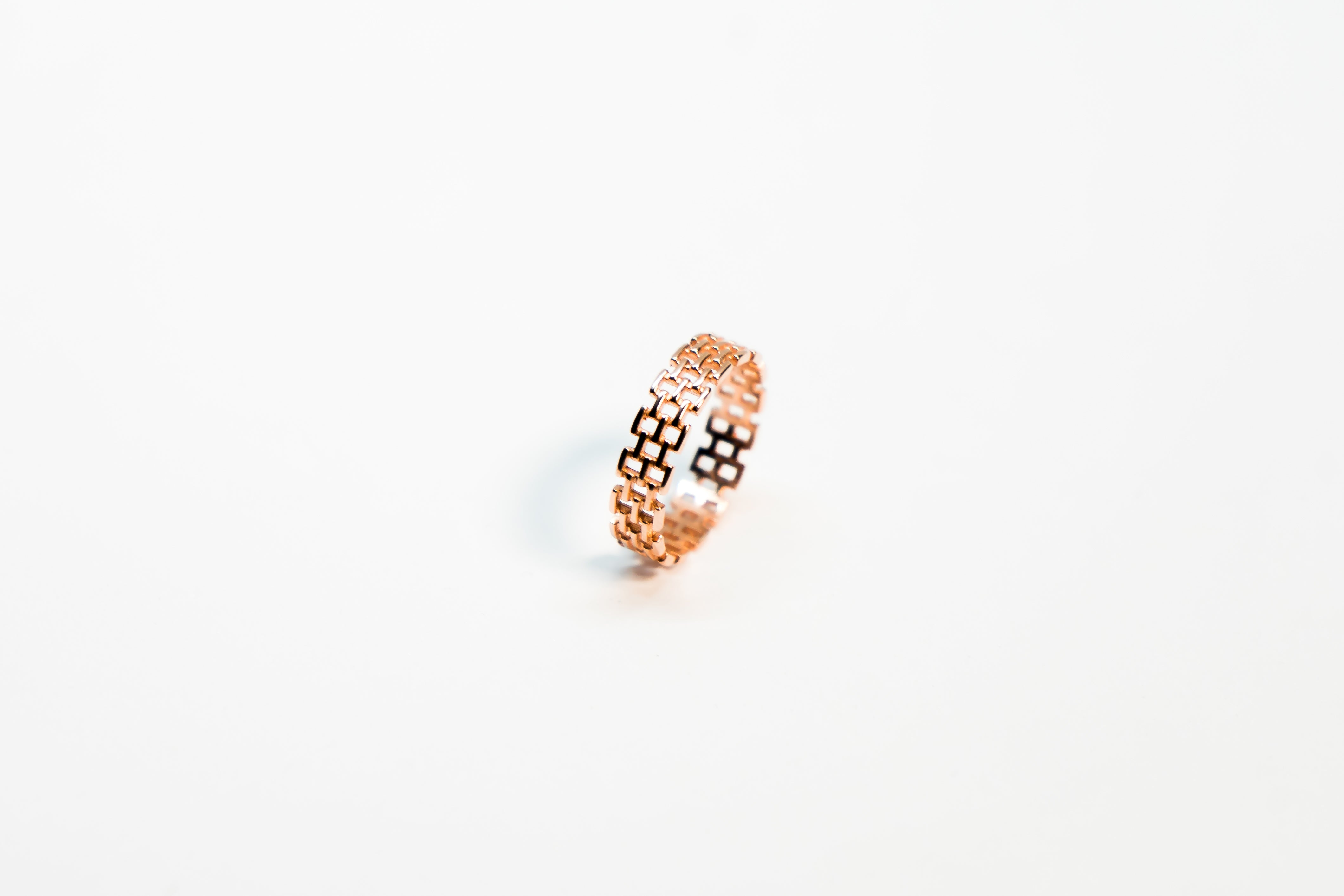 Rose Gold Hive Ring The Glared
