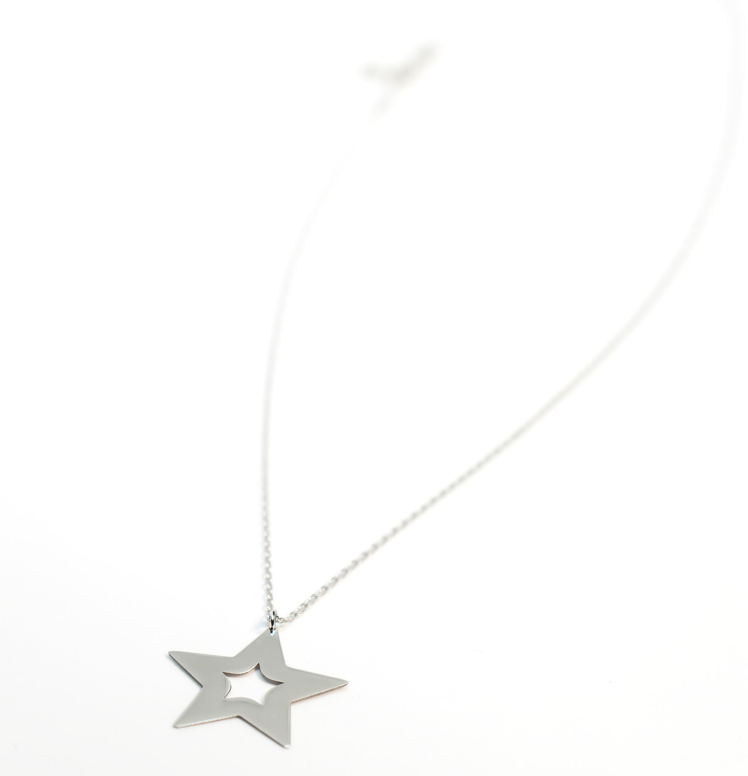 Star of the night necklace the Glared