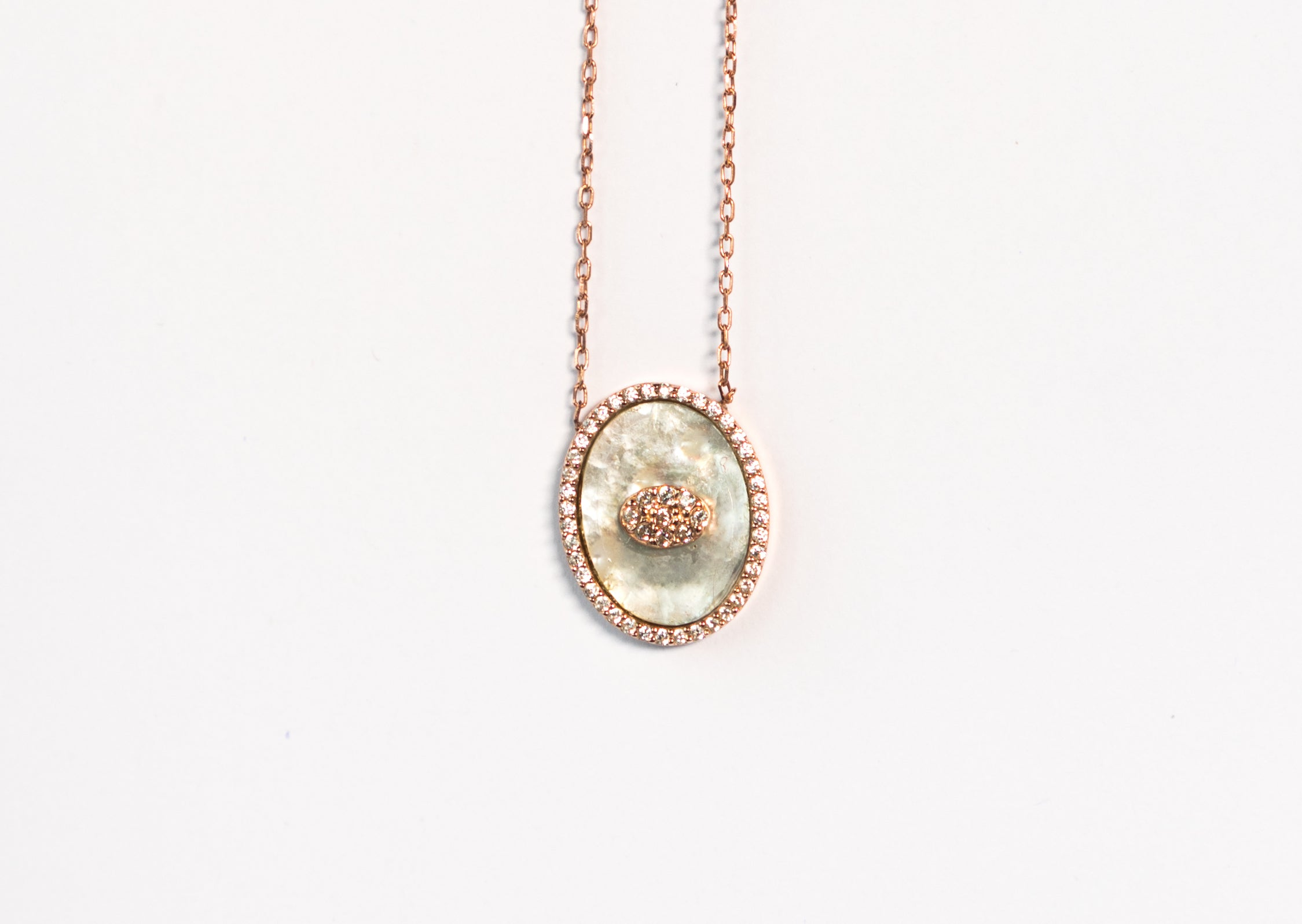 Mother Of Pearl Queen Necklace The Glared