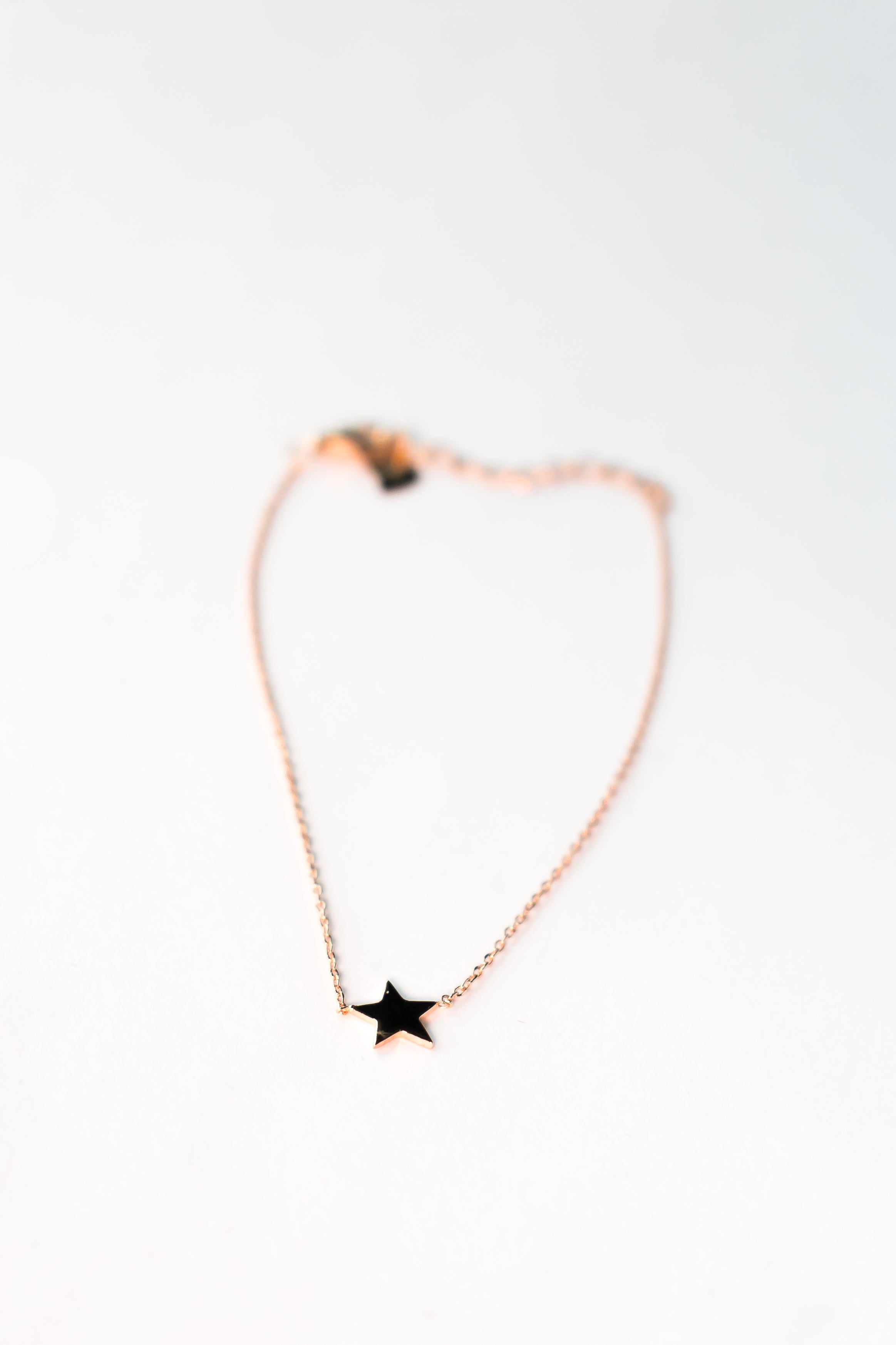 Rose Gold Mini Star Bracelet The Glared