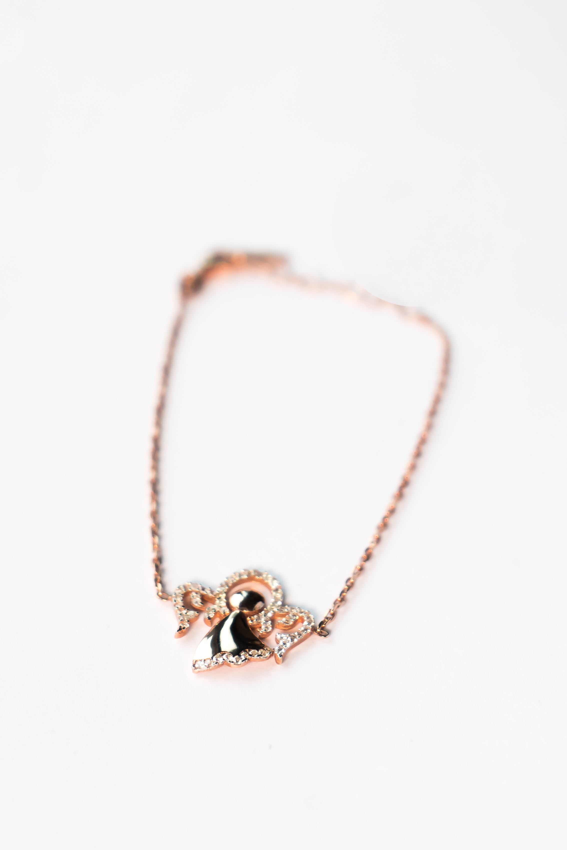 Rose Gold Luminous Bracelet The Glared