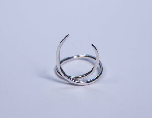 Silver Flame Ring The Glared