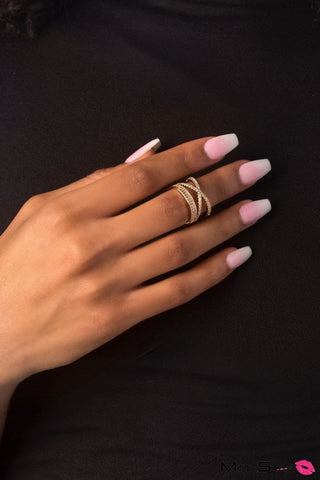 BAM! Rose Gold Ring with GLAM