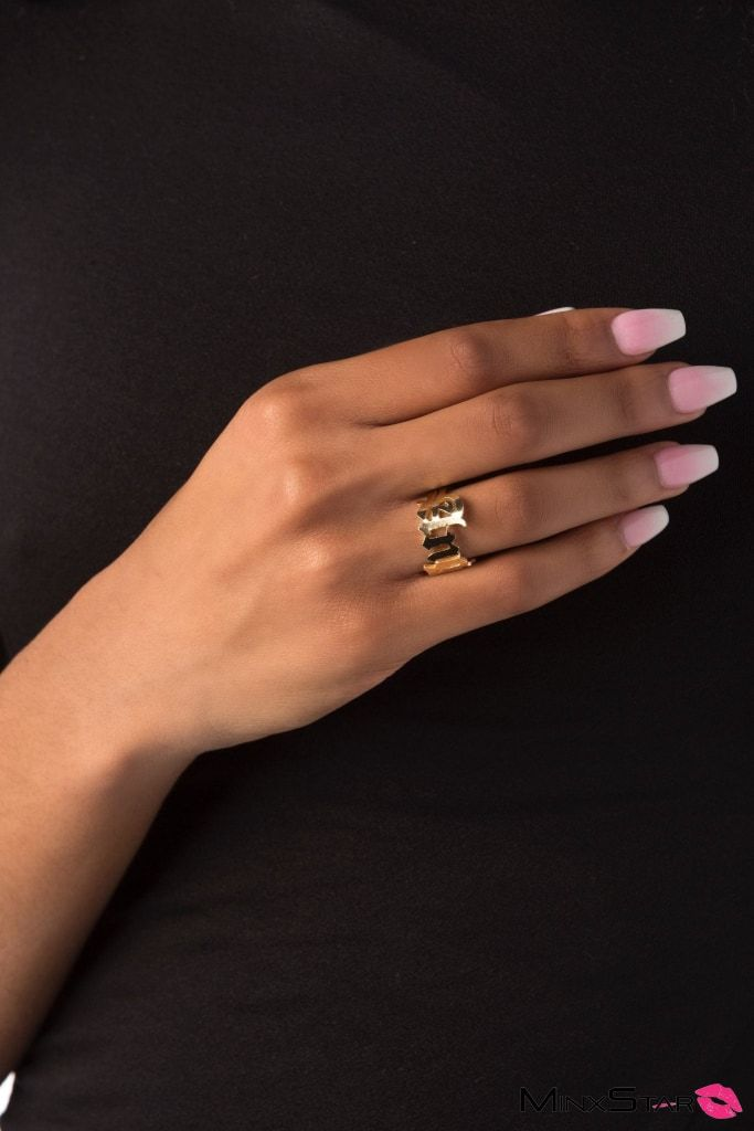 Angel Gold RIng