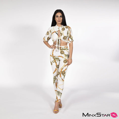 Sizzling Showstopper Pant Set - Multi