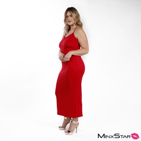 Oh Nikki Maxi Dress - Red