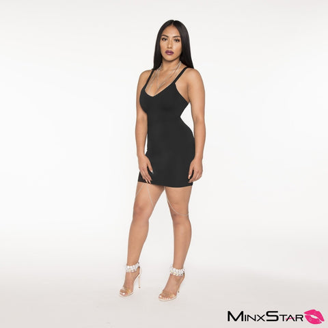 Too Good For You Mini Dress - Black