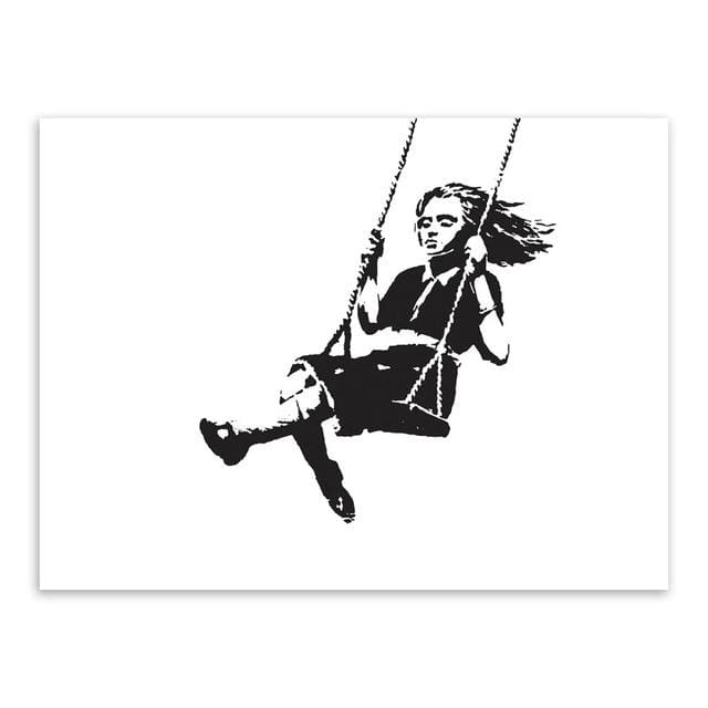 Banksy Theme Prints - Wall Poster