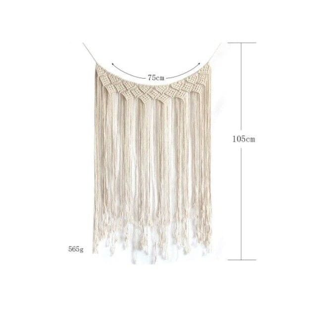 Bohemian Macrame Woven Tassel - As photo 1 - macrame