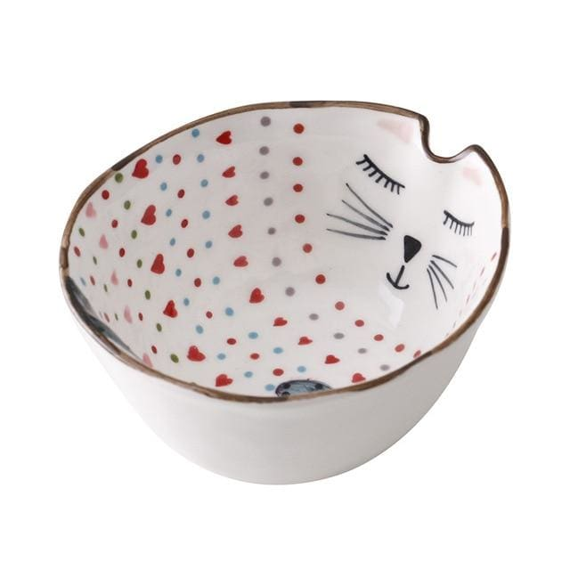 Cartoon animal tableware - bowl 1 - plates
