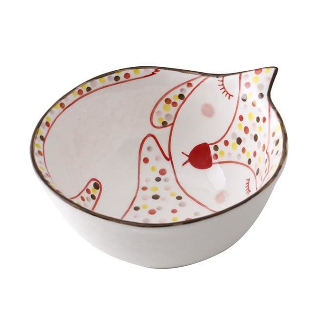 Cartoon animal tableware - bowl 2 - plates