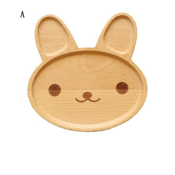 Cute Animal Breakfast Plates - A - kitchen