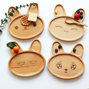 Cute Animal Breakfast Plates - kitchen