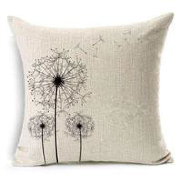 Decorative Pillow Case - 1 Dandelion / 45x45cm - pillow cases