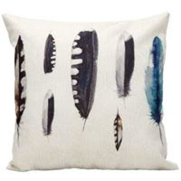 Decorative Pillow Case - 14 Feather2 / 45x45cm - pillow cases