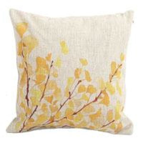 Decorative Pillow Case - 3 Ginkgo / 45x45cm - pillow cases