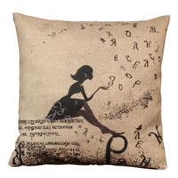 Decorative Pillow Case - 4 Beauty / 45x45cm - pillow cases