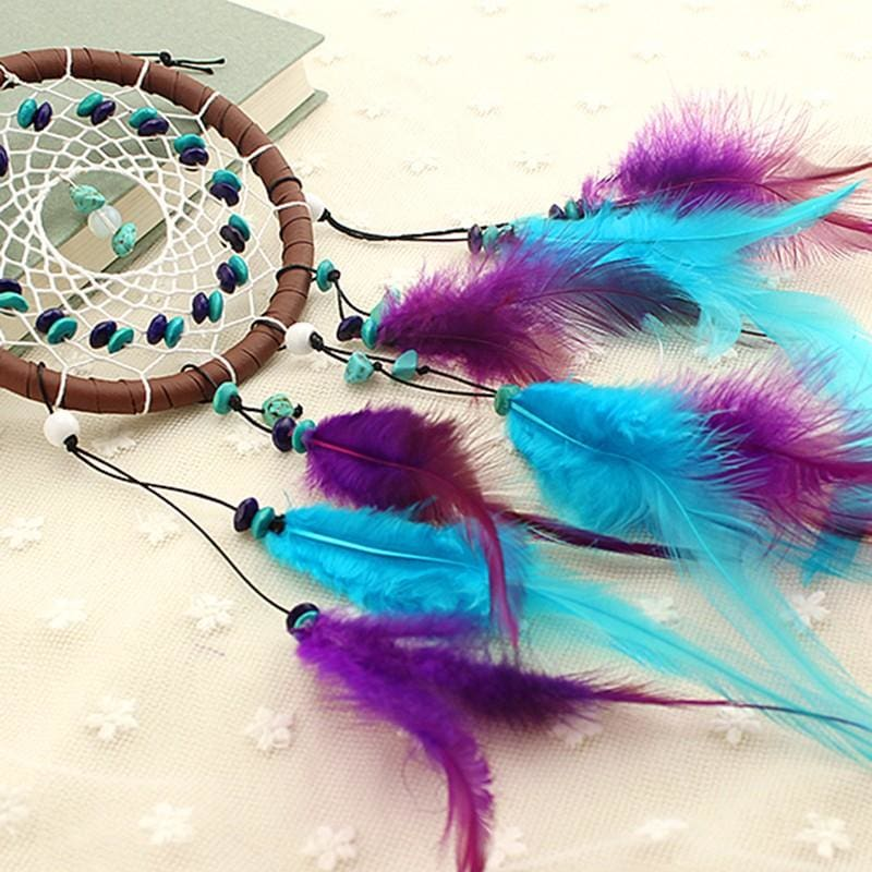 Dream Catcher with Natural Stones - dreamcatcher
