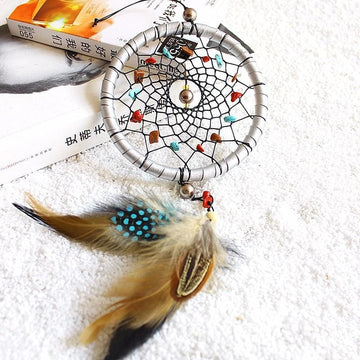 Dreamcatcher with Natural Stones - dreamcatcher