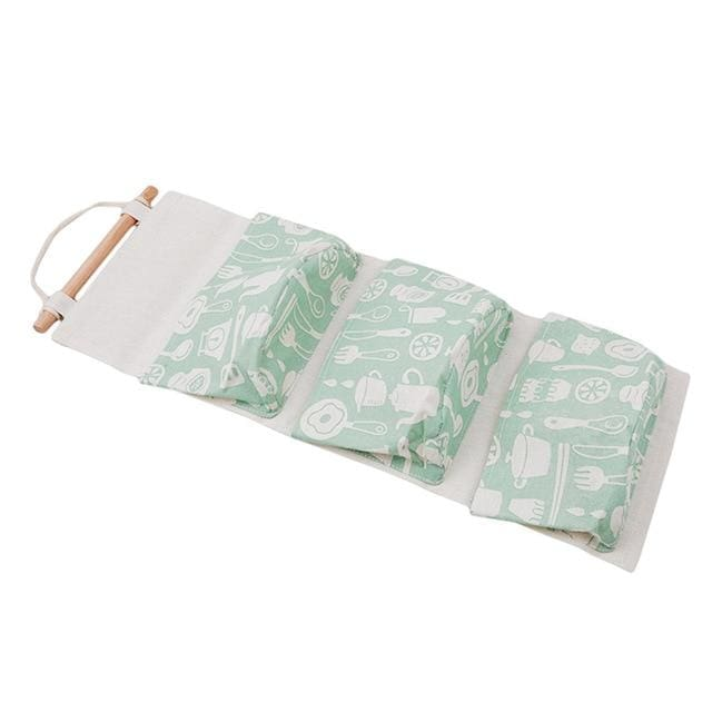 Hanging Cotton Storage Bag - 4 - storage bag