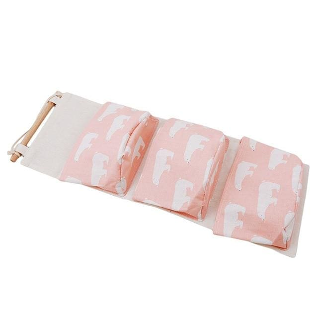 Hanging Cotton Storage Bag - 5 - storage bag