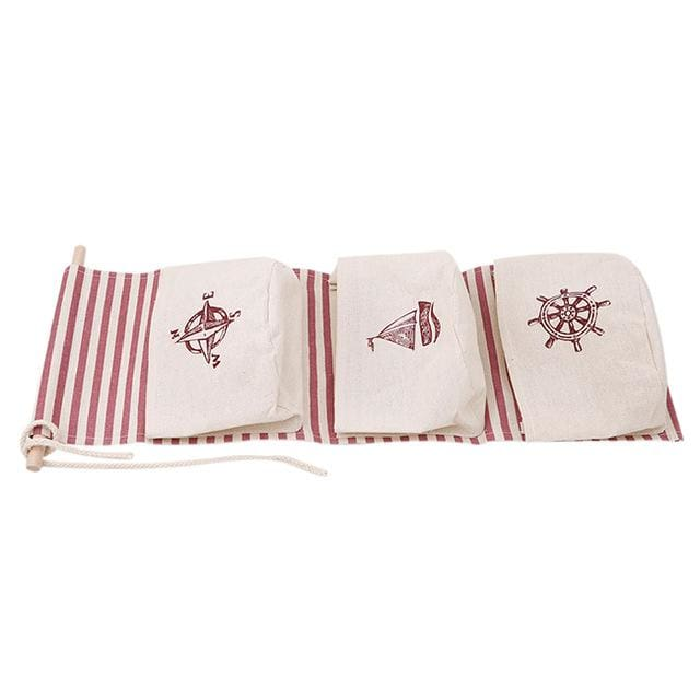 Hanging Cotton Storage Bag - 6 - storage bag