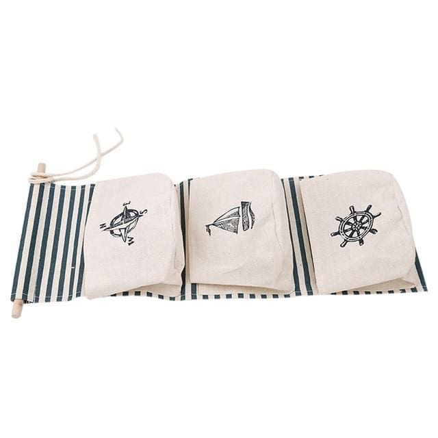 Hanging Cotton Storage Bag - 7 - storage bag