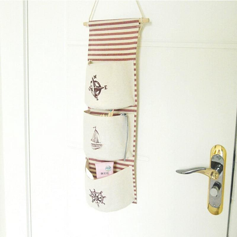 Hanging Cotton Storage Bag - storage bag