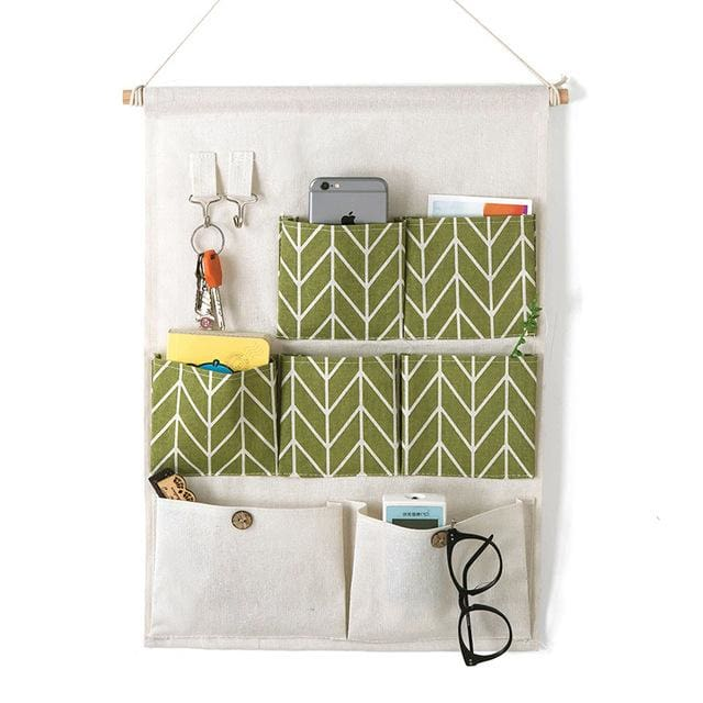 Hanging Organizer Bag - 14 20 cm / Green - storage bag