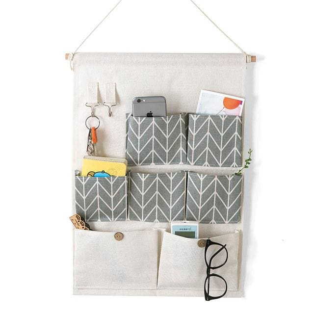 Hanging Organizer Bag - 14 20 cm / Grey - storage bag