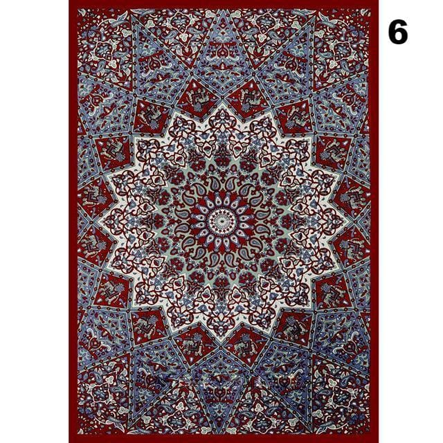 Indian Mandala Tapestry - Style 6 / See below for size descriptions - tapestry