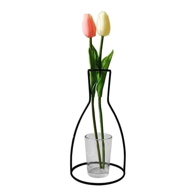 Iron Outline Vase - G03 - vase