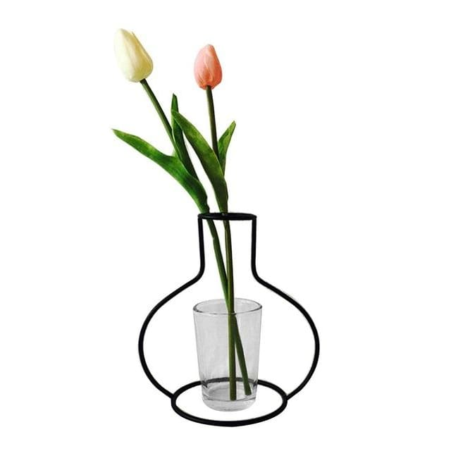Iron Outline Vase - G05 - vase
