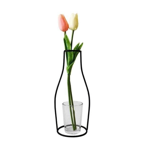 Iron Outline Vase - G06 - vase