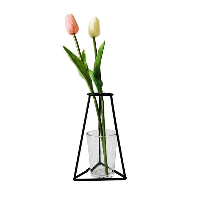 Iron Outline Vase - G07 - vase