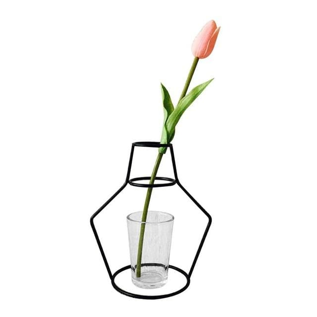 Iron Outline Vase - G08 - vase